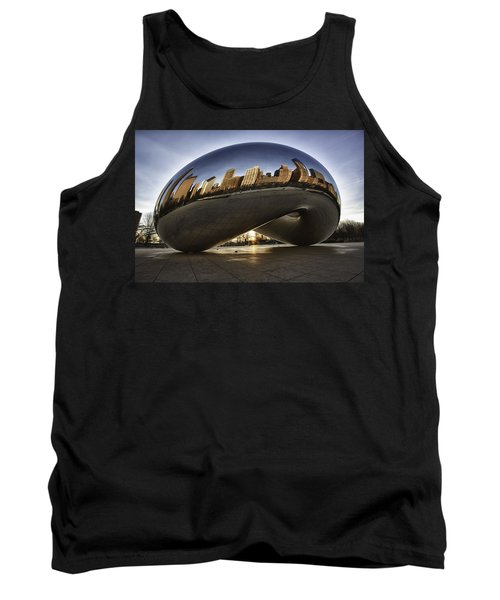 Chicago Cloud Gate At Sunrise Tank Top