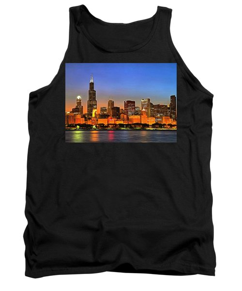 Chicago Dusk Tank Top