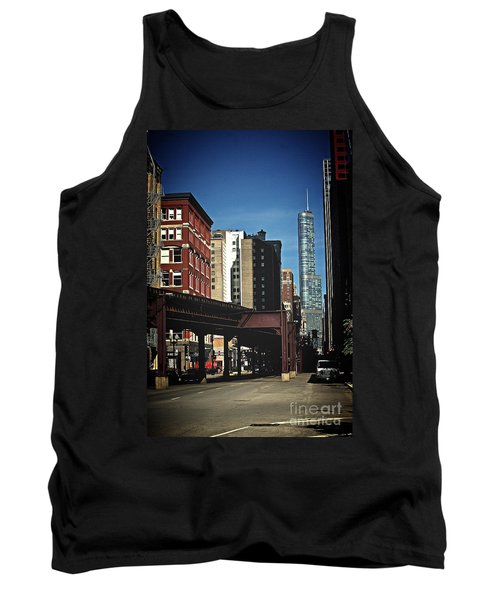 Chicago L Between The Walls Tank Top