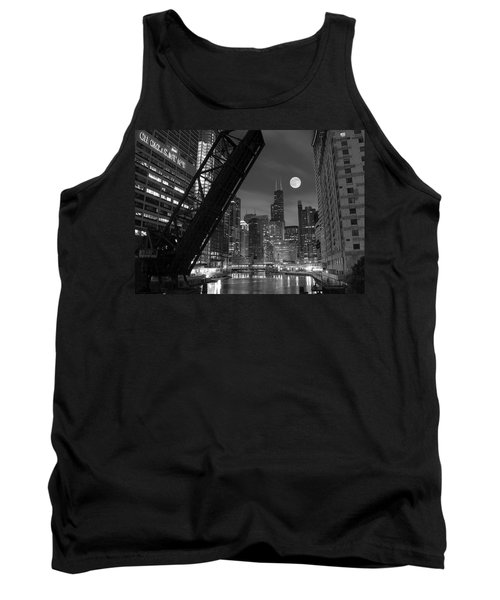 Chicago Pride Of Illinois Tank Top by Frozen in Time Fine Art Photography