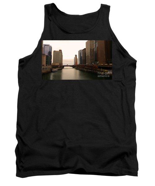 Chicago Rive Tank Top by Elizabeth Coats