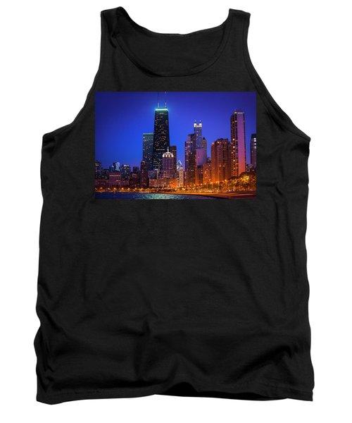 Chicago Shoreline Skyscrapers Tank Top