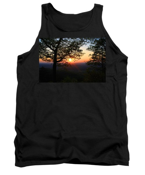 Tank Top featuring the photograph Chilhowee Sunset by Kathryn Meyer