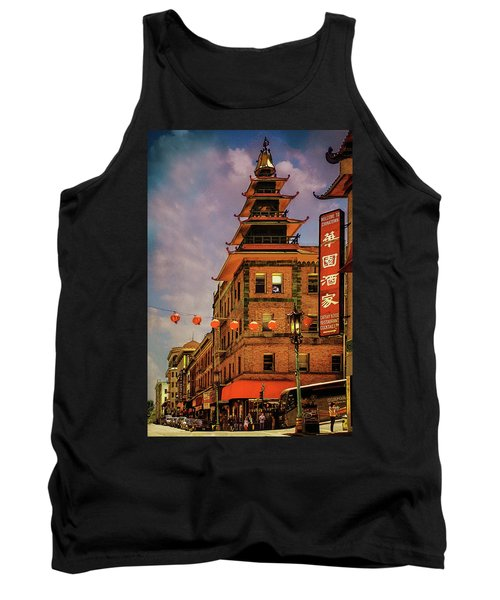 Chinatown San Francisco Tank Top