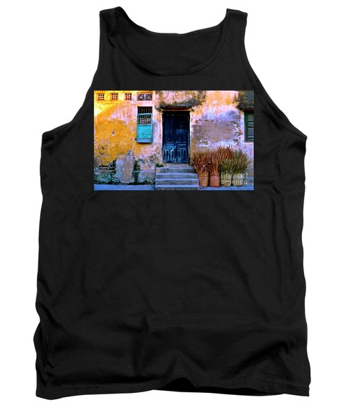 Chinese Facade Of Hoi An In Vietnam Tank Top