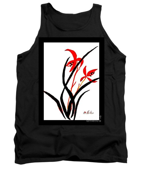 Chinese Flowers Tank Top