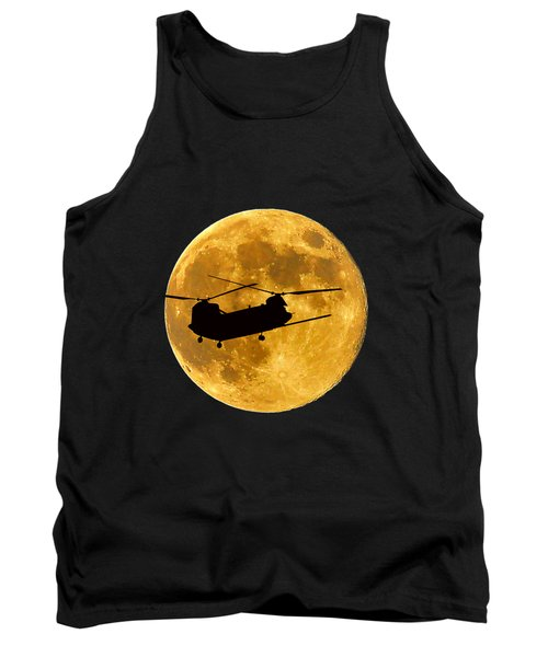 Chinook Moon Color .png Tank Top by Al Powell Photography USA