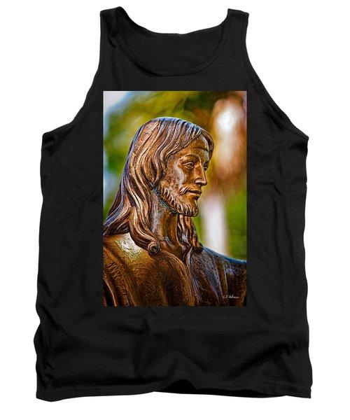 Christ In Bronze Tank Top