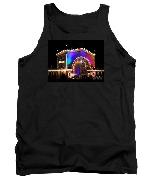 Christmas Celebration In San Diego  Tank Top by Jasna Gopic