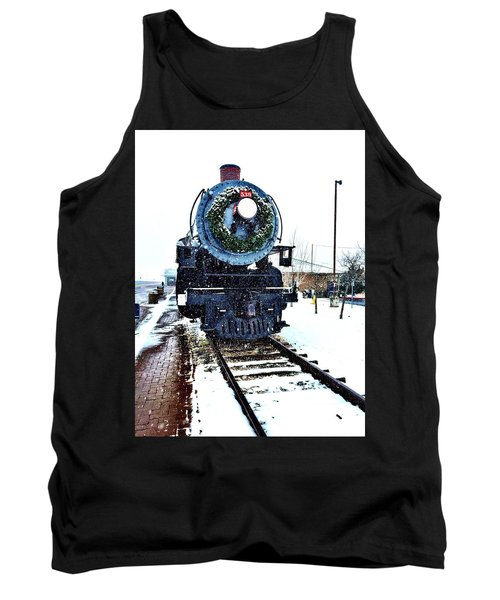 Christmas Train Tank Top