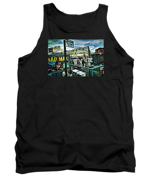 Christopher Street Greenwich Village  Tank Top