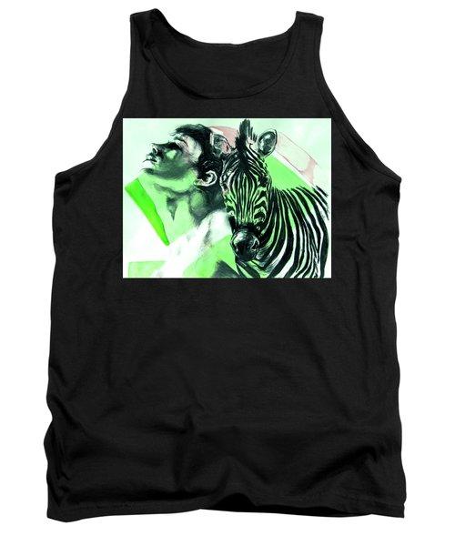 Chronickles Of Zebra Boy   Tank Top