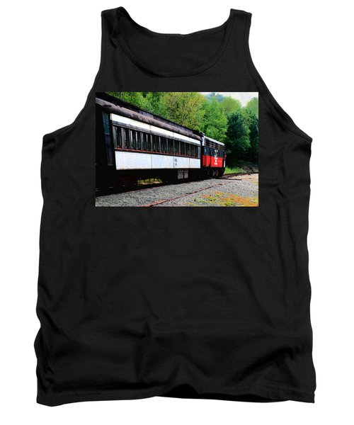Tank Top featuring the photograph Chugging Along by RC DeWinter