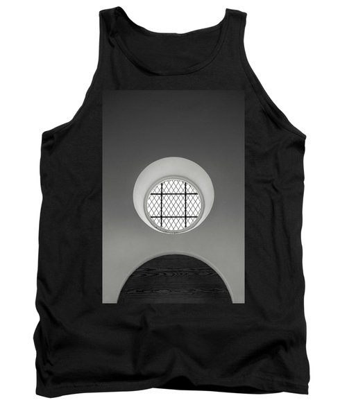 Church Window In Black And White Tank Top