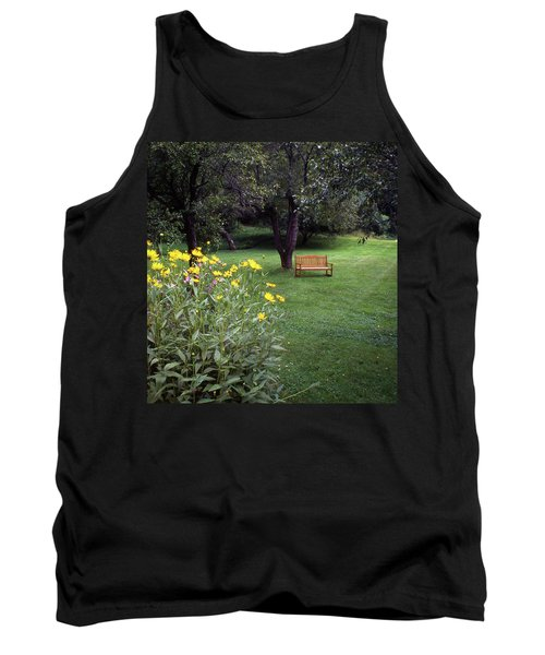 Churchyard Bench - Woodstock, Vermont Tank Top