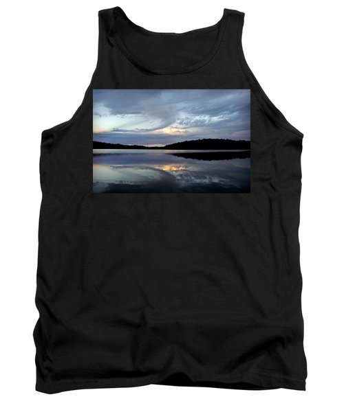 Tank Top featuring the photograph Churning Clouds At Sunrise by Chris Berry