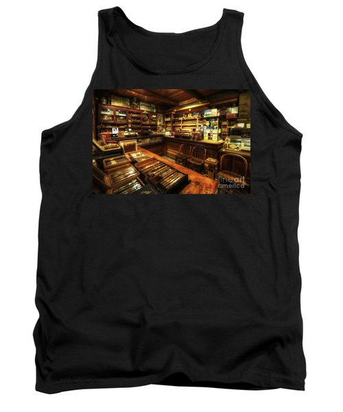 Cigar Shop Tank Top by Yhun Suarez