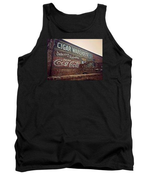 Cigar Warehouse Greenville Sc Tank Top by Kathy Barney