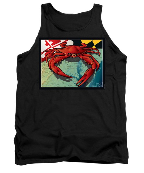 Citizen Crab Of Maryland Tank Top