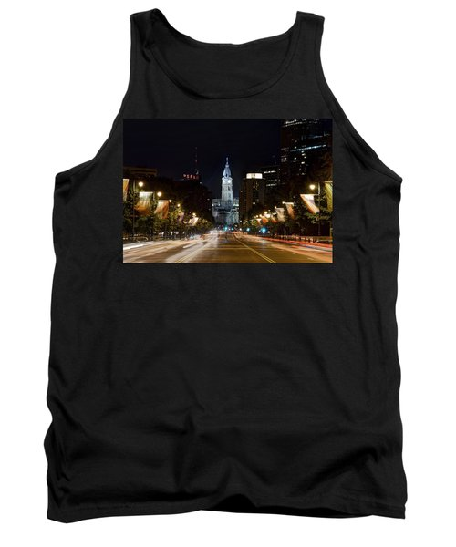 City Hall From The Parkway Tank Top by Jennifer Ancker