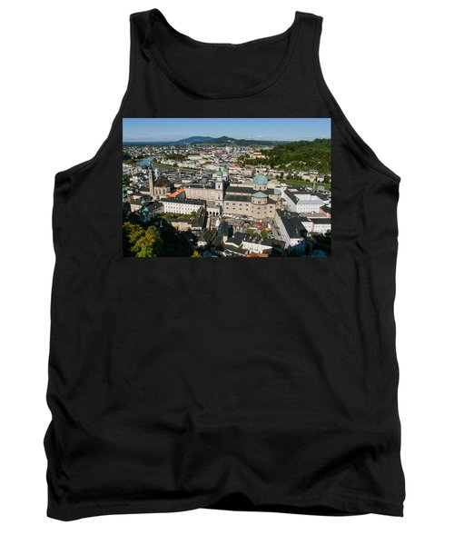 Tank Top featuring the photograph City Of Salzburg by Silvia Bruno