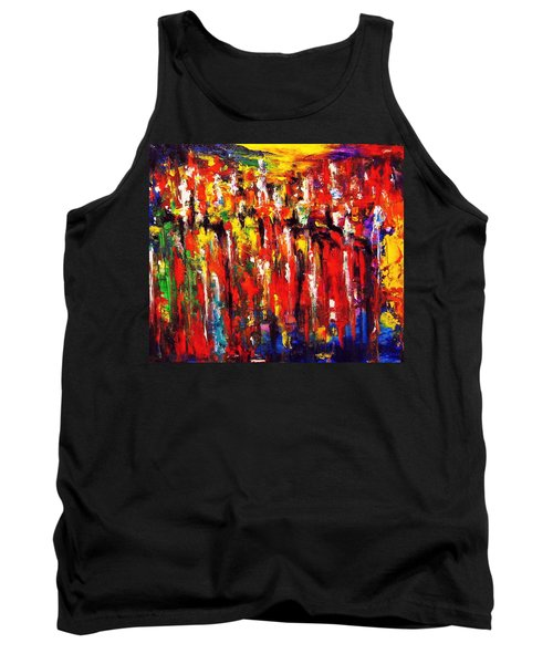 City. Series Colorscapes. Tank Top by Helen Kagan