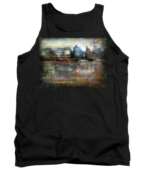 Tank Top featuring the photograph Cityscape #33. Silent Windows by Alfredo Gonzalez