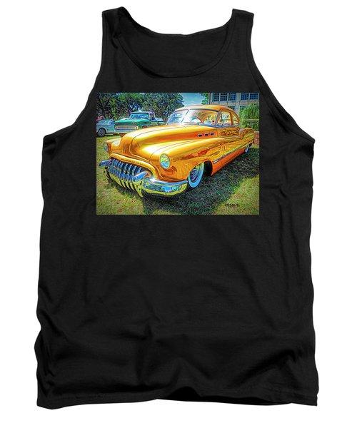 Classic Fifties Buick - Cruising The Coast Tank Top