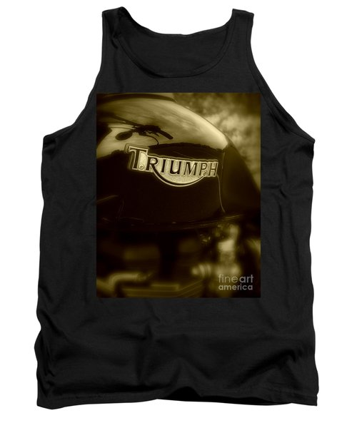 Classic Old Triumph Tank Top by Perry Webster
