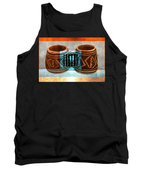 Tank Top featuring the digital art Classsic Designs Of The Southwest by David Lee Thompson