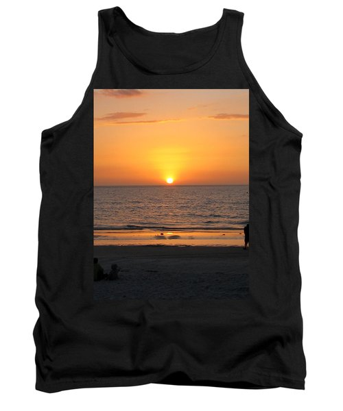 Clear Sunset Tank Top