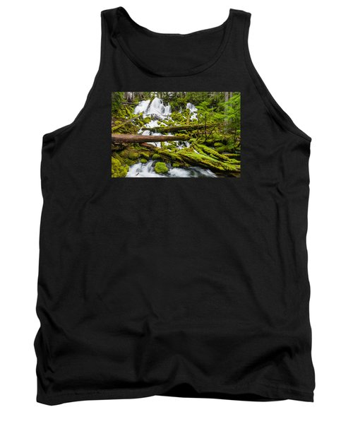Clearwater Falls And Rapids Tank Top by Greg Nyquist