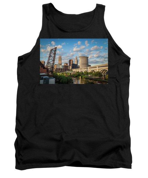 Cleveland Summer Skyline  Tank Top