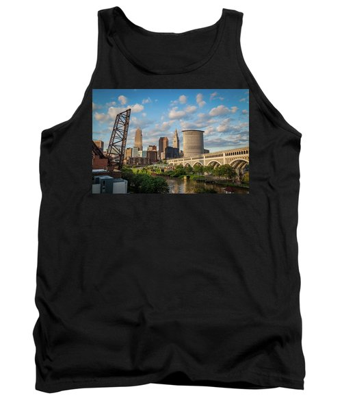 Cleveland Summer Skyline  Tank Top