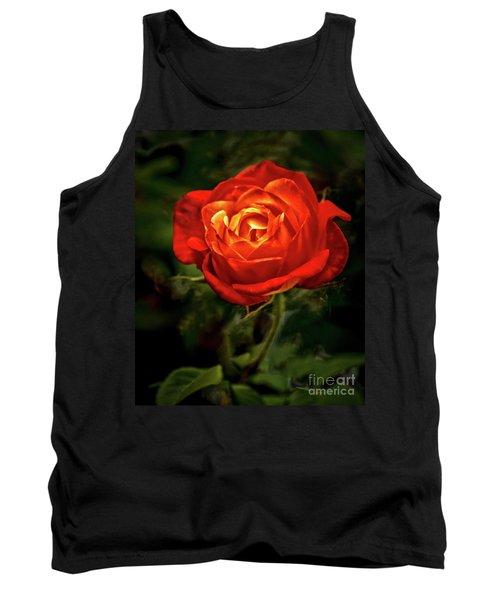 Climbing Rose Tank Top
