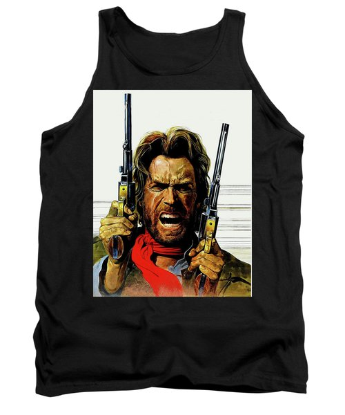 Clint Eastwood As Josey Wales Tank Top