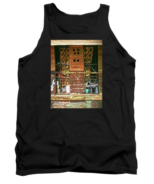 Tank Top featuring the photograph Closed Up by Anne Kotan