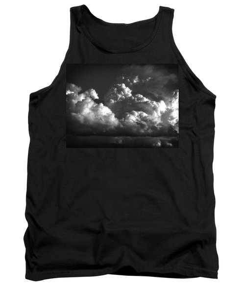 Tank Top featuring the photograph Cloud Power Over The Lake by John Norman Stewart