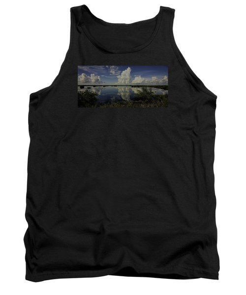 Clouds And Reflections Tank Top by Dorothy Cunningham