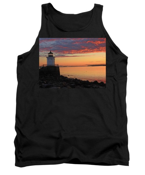 Clouds On Fire Tank Top