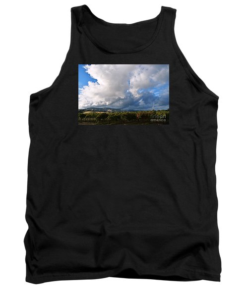 Clouds Over Napa County Tank Top
