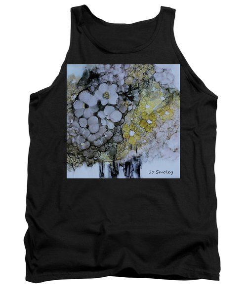 Tank Top featuring the painting Cloudy With A Chance Of Sunshine by Joanne Smoley