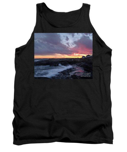 Coastal Sunset Cape Neddick - York Maine  -21056 Tank Top