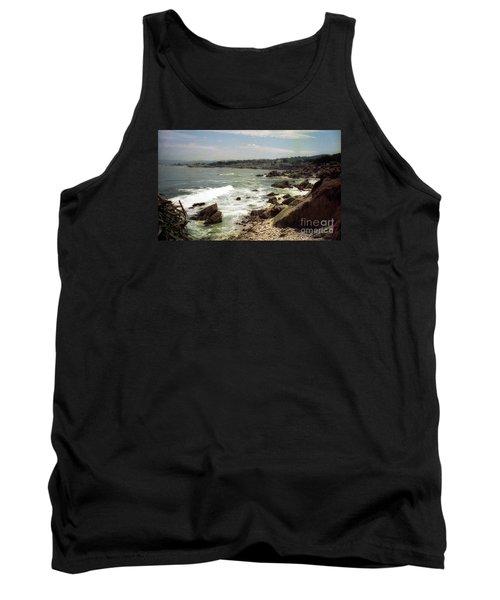 Coastal Waves And Rocks Tank Top