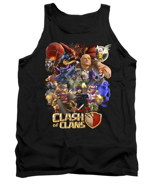 Coc Troops Tank Top