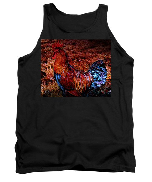 Cock Rooster Tank Top