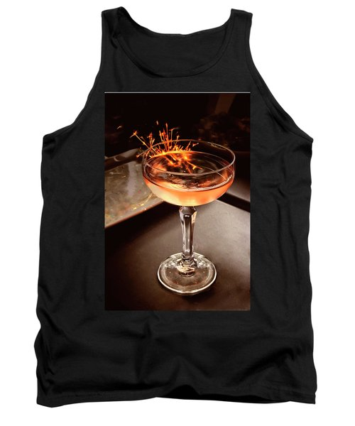 Cocktail Dazzle Tank Top