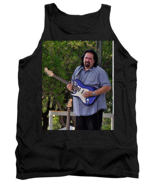 Coco Montoya And His Ocean Blue Fender American Standard Stratoc Tank Top