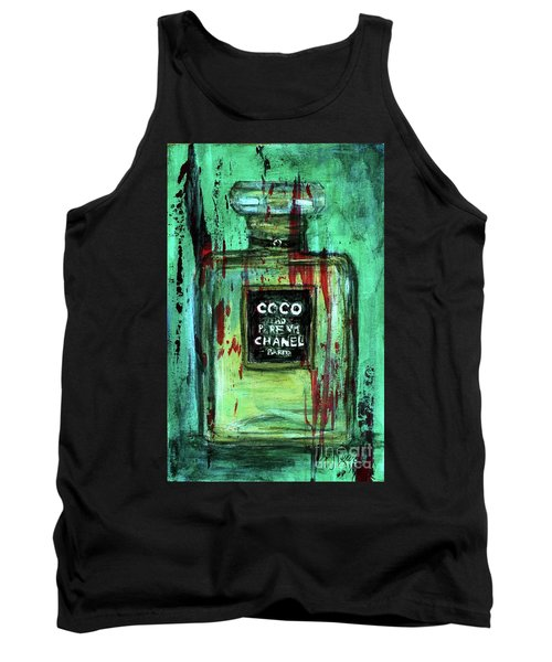 Tank Top featuring the painting Coco Potion by P J Lewis