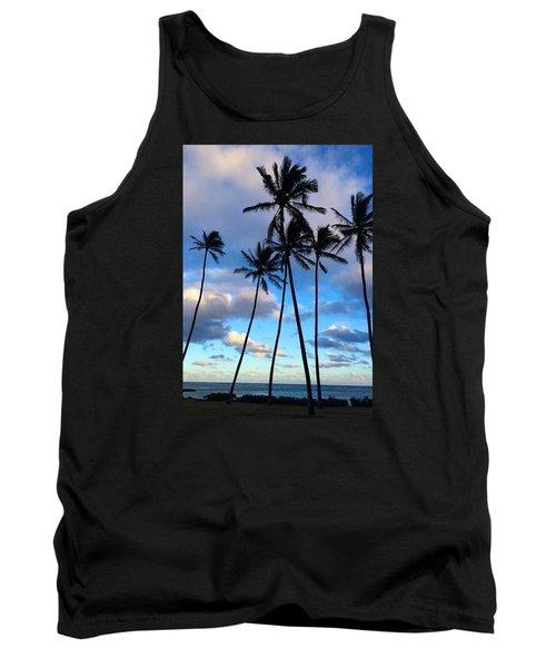 Coconut Palms Tank Top by Brenda Pressnall